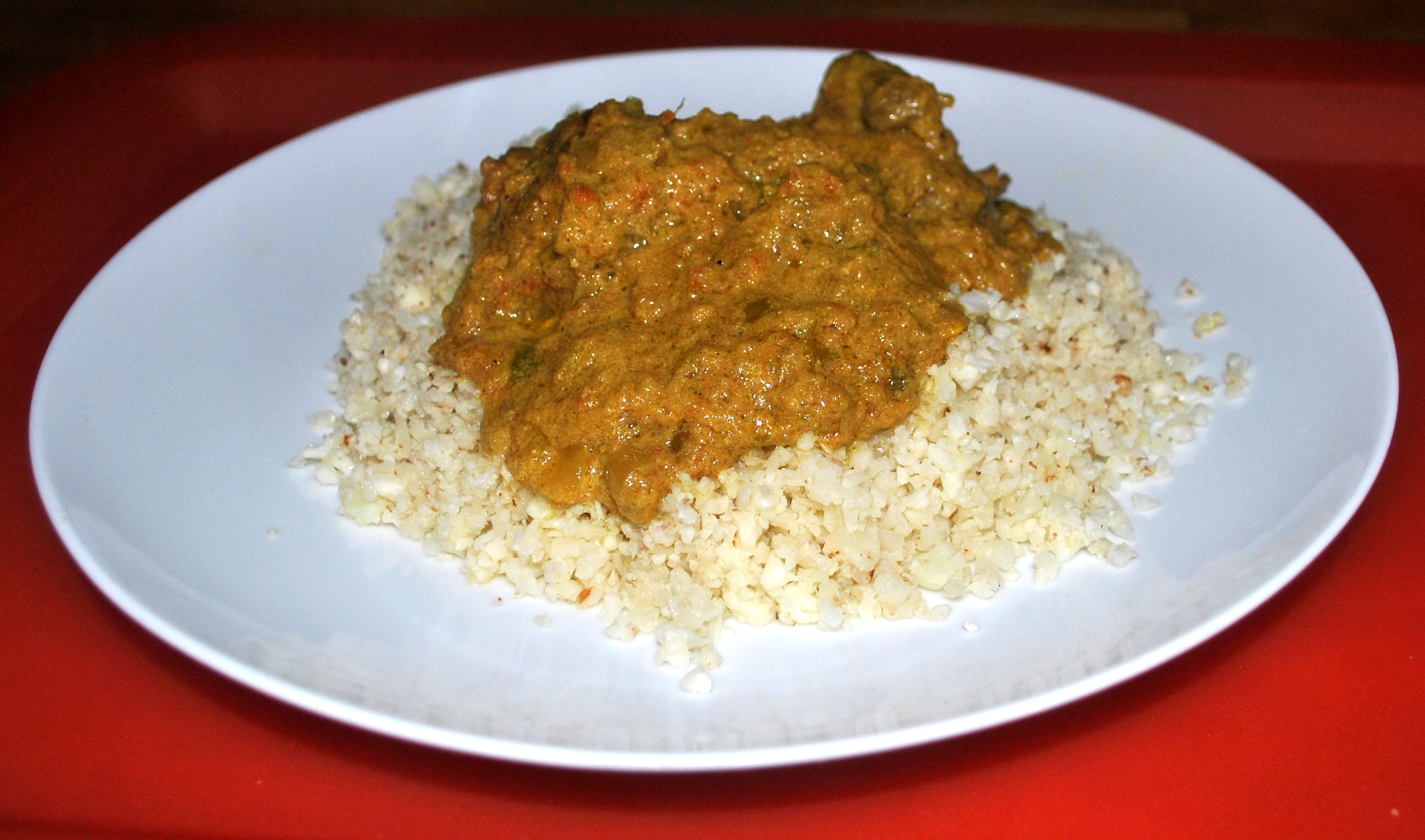 Slow Cooked Lamb Curry