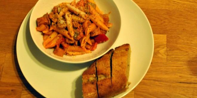 Spicy Sausage Pasta