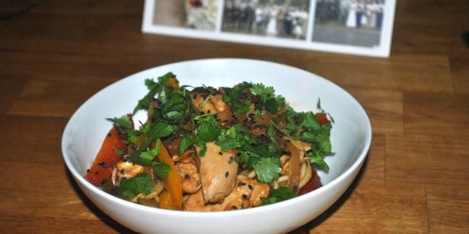 Hot, Sweet & Sour Chicken Ramen