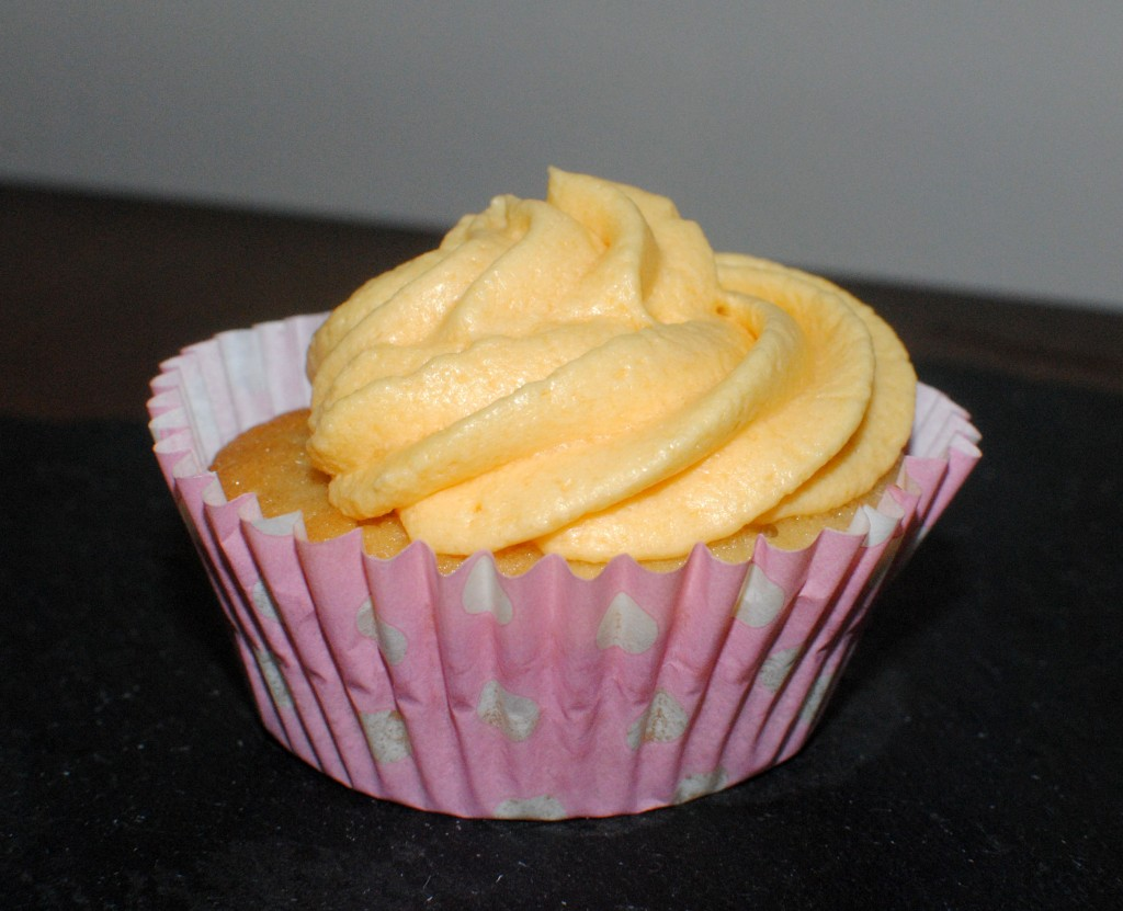 Oodles of Obliciousness - Jelly & Custard Cupcakes