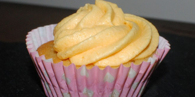 Jelly & Custard Cupcakes